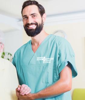 Pflegedienst Hartmann Karriere Kranken Altenpfleger Header